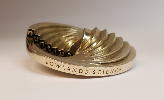 Lowlands Science winnaar Irispenning 2020