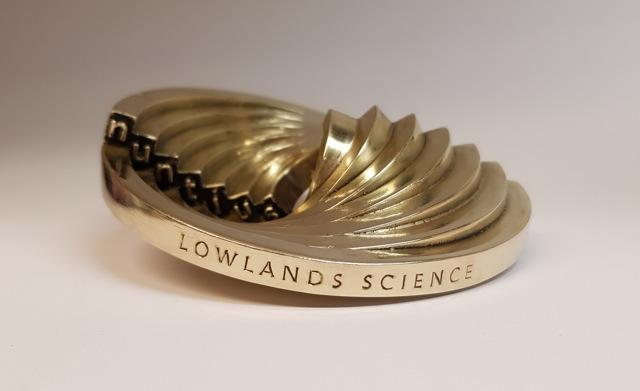 Lowlands Science winnaar Irispenning 2020