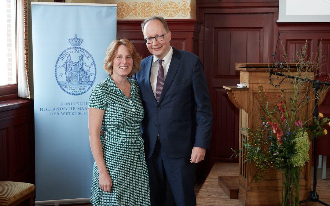 Carla Hoetink winnaar Veegens Prijs 2020