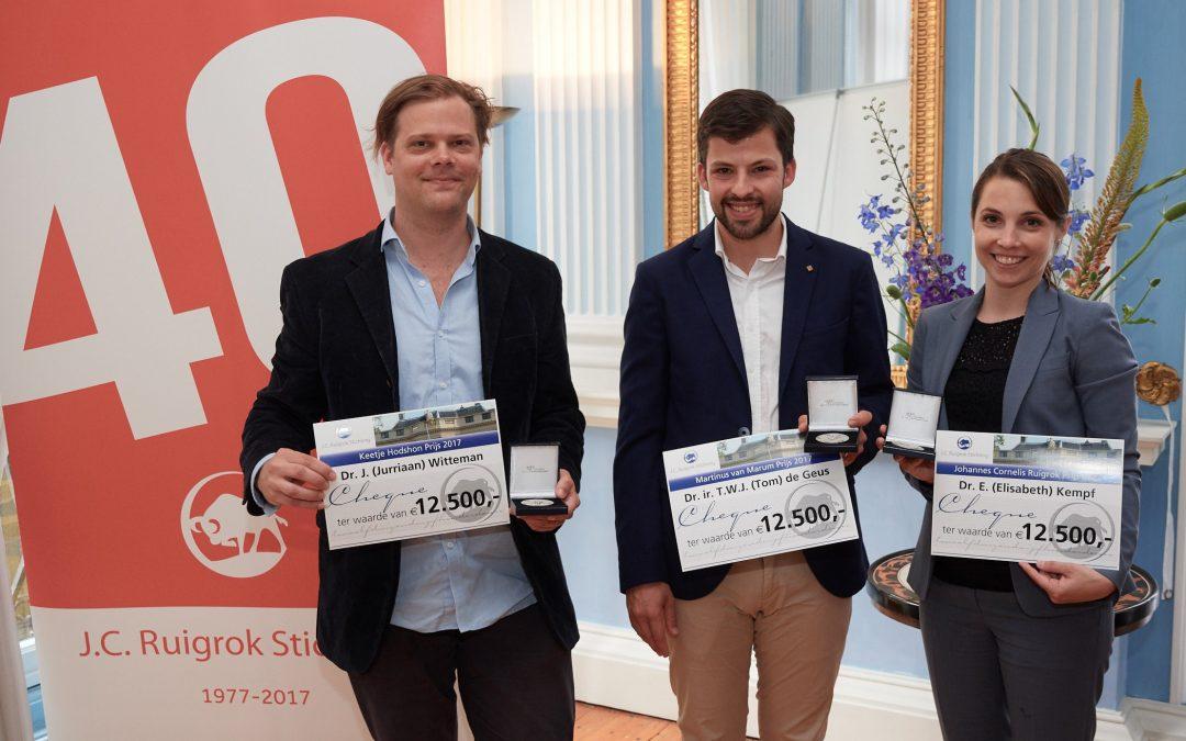Ruigrok Stichting reikt prijzen uit