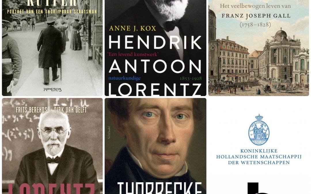Vijf kanshebbers op Boerhaave Biografie Prijs 2021