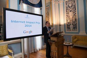 Internet Impact Prijs uitgereikt aan drie talentvolle studenten