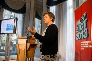 ICT-Prijs van € 50.000,- voor Marieke Huisman (UT)'