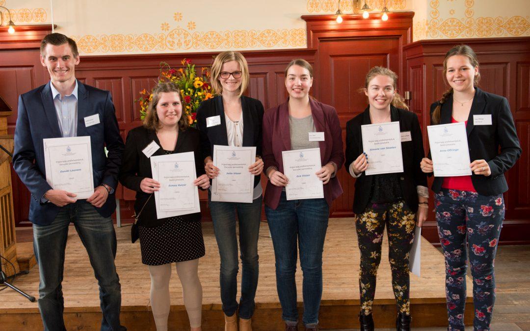 Profielwerkstukprijzen 2014 naar Hageveld en Mendelcollege
