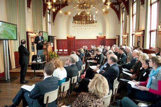 Jan Brouwer Conferentie druk bezocht